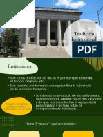 Trad. Institucional