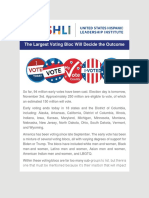 USHLI - The Largest Voting Bloc Will Decide the Outcome