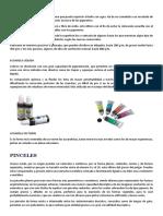 Materiales de Acuarela