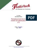 11-Changement chaîne distribution