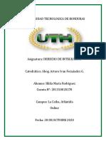 TAREA DERECHO DE INTEGRACION HILDA 2DO