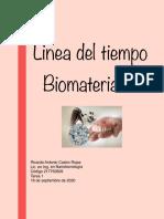 T1. Linea Del Tiempo. Biomateriales