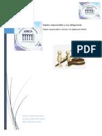 sujetos responsables y sus obligaciones y sujetos responsables conforme a la legislación federal