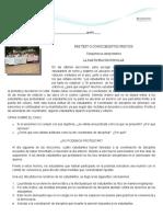 ESTUDIO DE CASOS SOBRE PARTICIAPACIÓN ESCOLAR