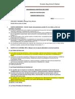 EXAMEN PARCIAL Nº 01 DERECHO PENITENCIARIO (sin respuestas ) -09-10-20