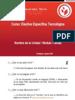 INTRODUCCIÓN A LA PROGRAMACIÓN WEB