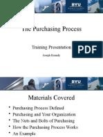 Puchasing Process