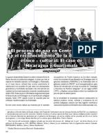 El proceso de paz en Centroamérica