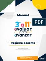 Manual Registro Docente