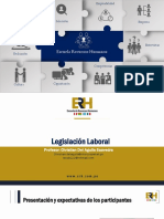 Actualización en Legislación Laboral