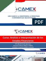 CAMEX CURSO ANALISIS E INTERPRETACION DE LOS EEFF UNIDAD 1 02112020