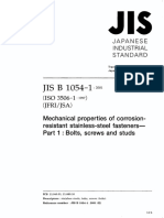 JIS B 1054-1 2001