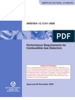 12.13.01 - Performance Requirement for Combustible Gas Detec