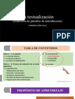 SEMANA10   Textualización (La introducción) (1)