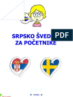 Srpsko švedski za početnike sa integrisanim audiom