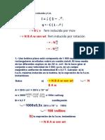 PROBLEMAS DE fem inducida y C. A