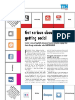 Get serious about getting social - TTN Yearbook 2011 - Cover Story