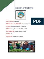Principales Mercados de La Ciudad -Tarea 3