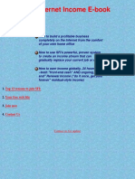 Ebook , how to make money on the internet ( adobe acrobat pd.pdf
