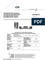 THOMSON DPL580 HT SM