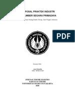Proposale PI PT. Sumber Segara Primadaya