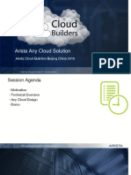 Arista Cloud Builders China 2018 - Any Cloud Solutions .pdf