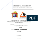 Monografía de (Todos) Los Instrumentos Topográficos
