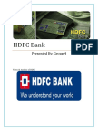 HDFC Bank Financial Analysis