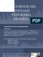 Trastornos del lenguaje. Panorama General