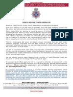 PSC Operators advert - English