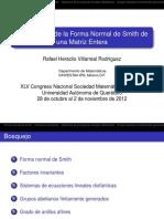 Forma Normal de Smith