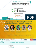 Designing and Smart Operating and Sustainable Data Center in South Aisa