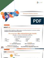ValueFirst Enterprise Mobility Solution Presentation(1)