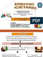 ÓRGANOS DE ADMINISTRACIÓN SOCIETARIOS (GRUPO N 4).ppt