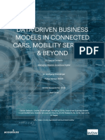Data-driven Business Models in Connected Cars, Mobility Services & Beyond