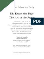 Bach, El arte de la fuga (frag análisis)