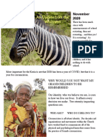 Paul and Stephanie's Latest Update From Kenya