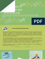 DIFICULTADES DEL APRENDIZAJE-CONCEPTUALIZACIÓN