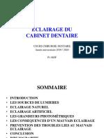 ECLAIRAGE D'UN CABINET DENTAIRE (1)