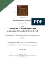 Conception et déploiement d'une application d'envoie de sms via le web. (1).pdf