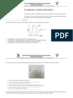 Estudo dirigido- farmacodinâmica