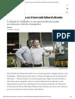 Die Welt - La nueva fuerza en el mercado laboral alemán