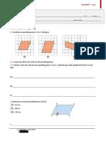 34 - Área do paralelogramo
