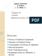 Organic chemistry wade 8th edition Chapter 18