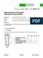 WS A25 Specifications of plungers TB00-5501-07