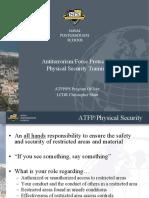 ATFP-PS Training