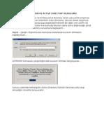 Windows Server 2008 r2 Active Directory Kurulumu