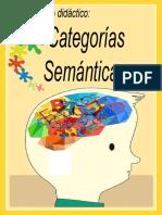 Categorías semánticas