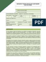 Plan curso ambiente y desarrollo sostenible