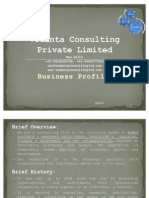Vedanta Consulting Private Limited_Business Profile